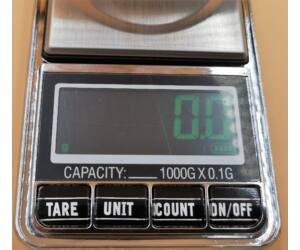 AVX-SC1USB barista mérleg-1000g- 0,1g pontosság