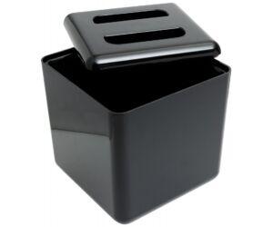 Dupla falú fekete square jégvödör 4 literes