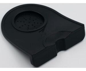 Szilikon tamper alátét 125x140 mm fekete