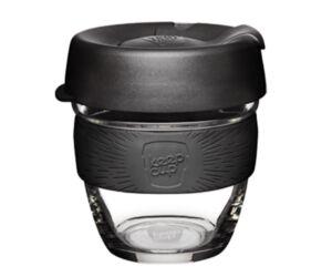 KeepCup Brew Café üveg pohár kávés termosz BLACK 240 ml