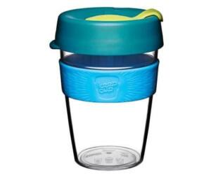 KeepCup clear plasztik to go pohár kávés termosz OZONE 360 ml