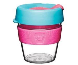 KeepCup clear plasztik to go pohár kávés termosz RADIANT 240 ml