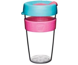 KeepCup clear plasztik to go pohár kávés termosz RADIANT 480 ml
