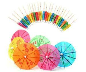 Díszítő esernyő - koktéldísz napernyő 144db/cs