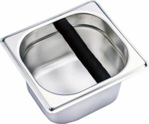 Stand pultba süllyeszthető fém knock box gumi leütővel