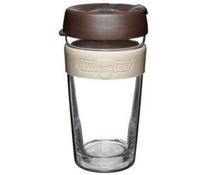 KeepCup dupla falú üveg pohár kávés/teás termosz BLEND 480 ml