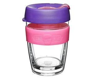 KeepCup dupla falú üveg pohár kávés/teás termosz BLOOM 360 ml