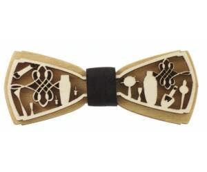 Fa csokornyakkendő Bartools 3D