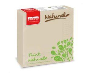 Fato Natural Style újrahasznosított lebomló éttermi szalvéta 50db/cs
