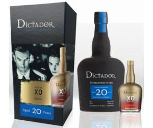Dictador 20 years 0,7 + XO mini 0,05 40% dd