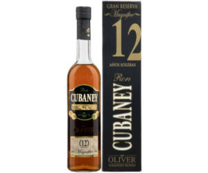 Cubaney Magnifico 12 years rum pdd.0,7L 38%