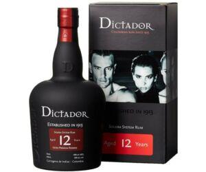 Dictador 12 years rum dd. 0,7L 40%