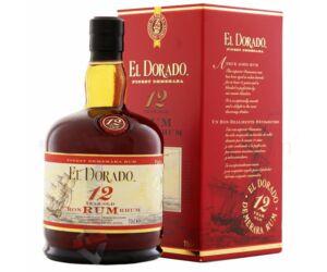El Dorado 12 years rum pdd. 0,7L 40%
