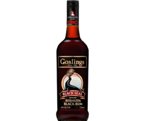 Goslings Black Seal Dark Bermuda rum 0,7L 40%