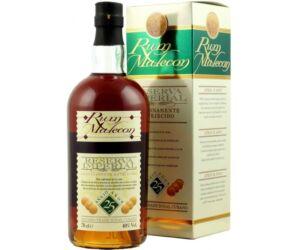 Malecon 25 éves rum pdd. 0,7L 40%