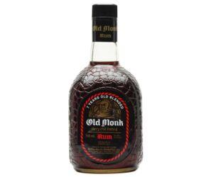 Old Monk rum 7 years rum 0,7L 42,8%