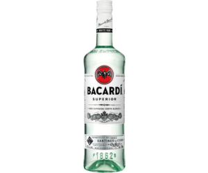 Bacardi Carta Blanca Rum 1L 37,5%