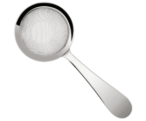 Biloxi ezüst finomszűrő 120mm-es fogantyúval