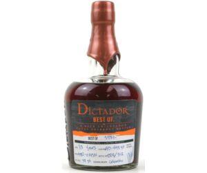 Dictador The Best of rum 1982 0,7L 42,6%