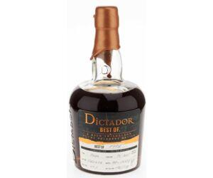 Dictador The Best of rum 1978 0,7L 44%