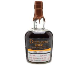 Dictador The Best of rum 1980 0,7L 41,8%