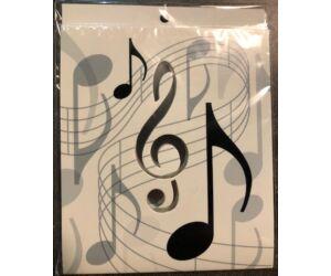Drop stop card cseppőr Music 1db/cs