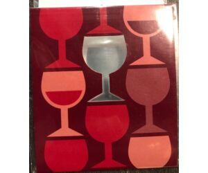 Drop stop card cseppőr Wine 1db/cs