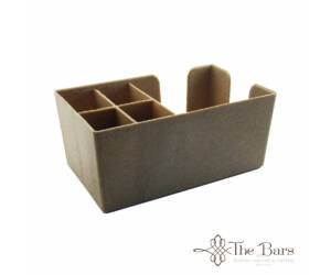 The Bars  fa hatású Bar Organizer-Bar Caddy