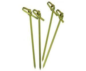Hurkolt fejű bambusz koktél szúróka 150mm 100 db/cs
