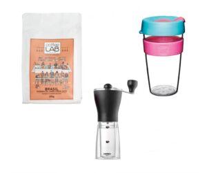 Kedvezményes kávés csomag keepcup al és hario kávédarálóval