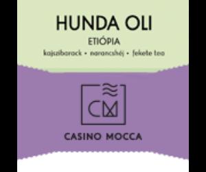 Casino Mocca Hunda Oli /Etiópia/ szemes kávé eszpresszónak 200 gr