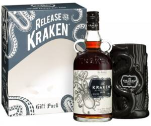 Kraken Black Spiced rum 0,7 40% pdd. + pohár