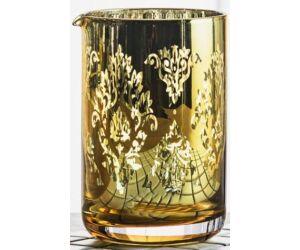 Vintage Kristály Keverőpohár arany színű 500 ml