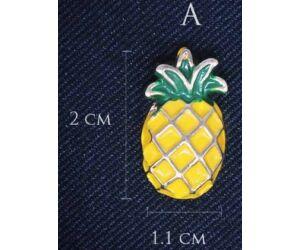 Ananász kitűző A
