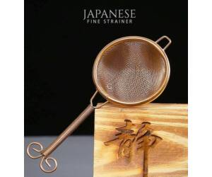 Hand Made Japán Vintage Finomszűrő Réz