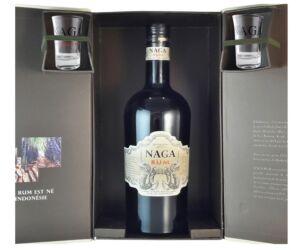 Naga Rum Double Cask Aged 0,7 40% dd. + 2 pohár