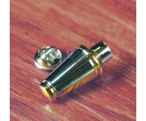 Gold Ring Shaker Kitűző