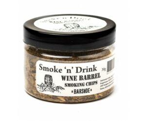 Füstölő fa füst pisztolyba Wine Barrel 30 gr
