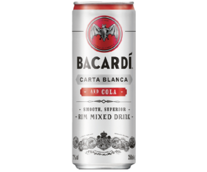 Bacardi Carta.Blanca & COLA 5% 0,25