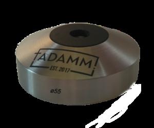 Vastag kávétömörítő talp lapos 58,5 mm