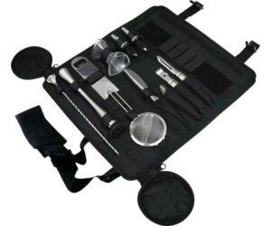 Rollup bártáska fekete, báreszközök nélkül