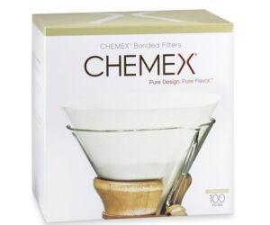 Chemex lekerekített filterpapír 100db/cs