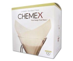 Chemex csücskös filterpapír 100db/cs