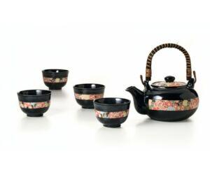 Haruto porcelán tea szett 5 részes