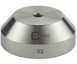Kávétömörítő talp klasszikus acél 53mm