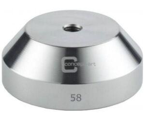Kávétömörítő talp klasszikus acél 58mm