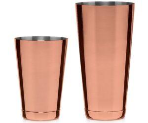 Ginza japán boston shaker pohárral réz