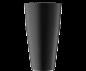 Erős kivitelű prémium boston shaker matt fekete