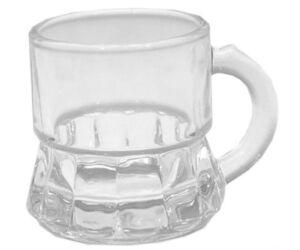Füles szeszes, snapsz pohár 25 ml 6db/cs