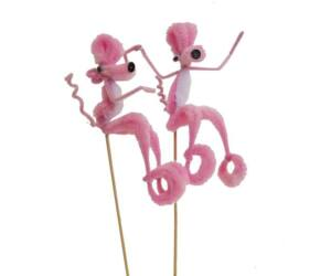 Rózsaszín párduc pálcika 50db/cs